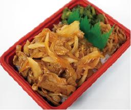 ラー油焼肉丼 550円