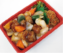 酢豚丼 550円