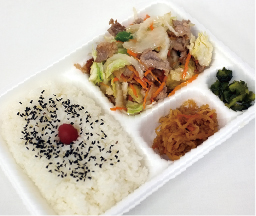 肉野菜炒め弁当 580円